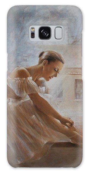 A New Day Ballerina Dance Galaxy Case by Vali Irina Ciobanu