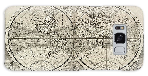 A New Map Of The Whole World With Trade Winds Herman Moll 1732 Galaxy Case