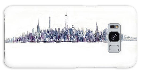 A New Year In Manhattan Galaxy Case