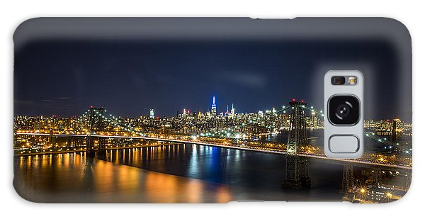 A New York City Night Galaxy Case