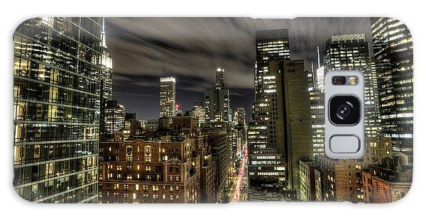 A New York City Night Galaxy Case by Shawn Everhart