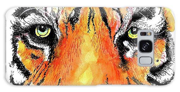 A Nice Tiger Galaxy Case by Terry Banderas