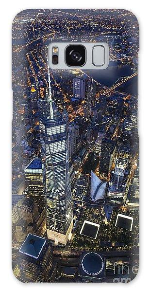 A Night In New York City Galaxy Case by Roman Kurywczak