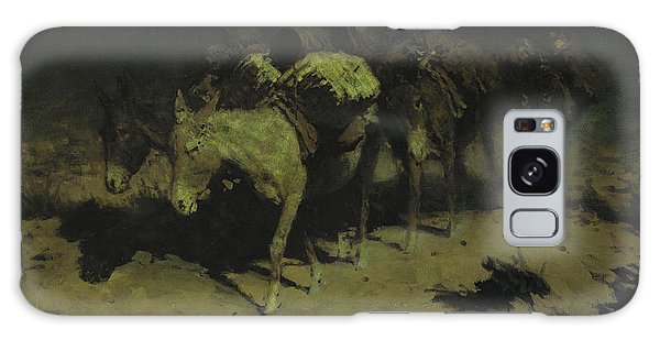 A Pack Train Galaxy Case by Frederic Remington