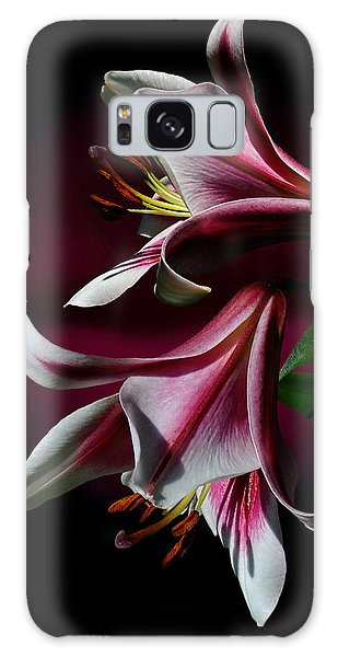 A Pair Of Lilies Galaxy Case