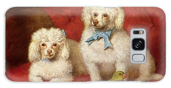 A Pair Of Poodles Galaxy Case