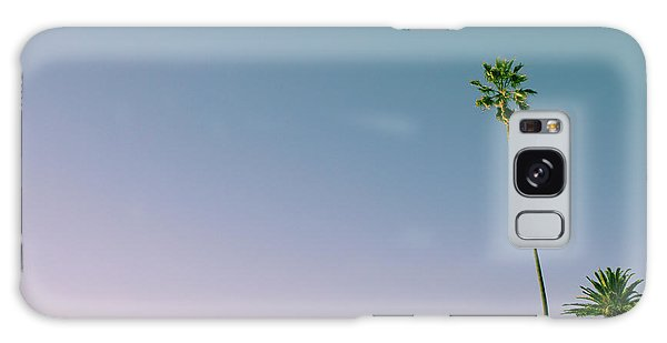 Galaxy Case featuring the photograph A Palm On Its Own by Matthew Wolf