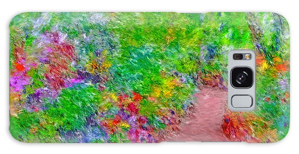 Galaxy Case featuring the digital art A Path Through Eden by Digital Photographic Arts