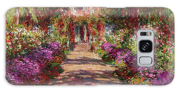 A Pathway In Monets Garden Giverny Galaxy Case