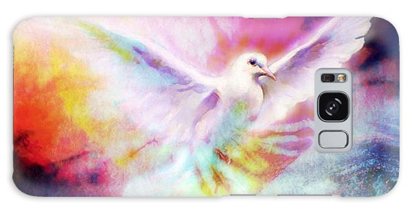 A Peace Dove Galaxy Case
