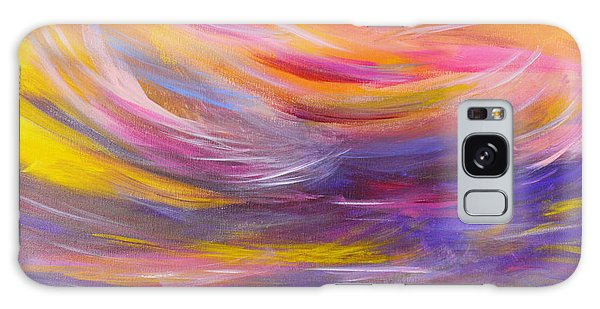 A Peaceful Heart - Abstract Painting Galaxy Case