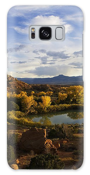 Sangre De Cristo Galaxy S8 Case - A Peaceful Landscape Stretches by Ralph Lee Hopkins
