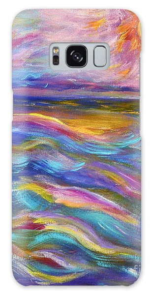 A Peaceful Mind - Abstract Painting Galaxy Case