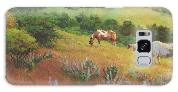 Equine Galaxy Case - A Peaceful Nibble by Steve Henderson