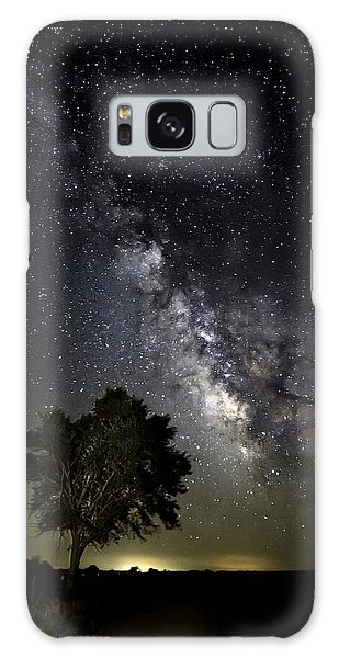 A Peaceful Night Galaxy Case