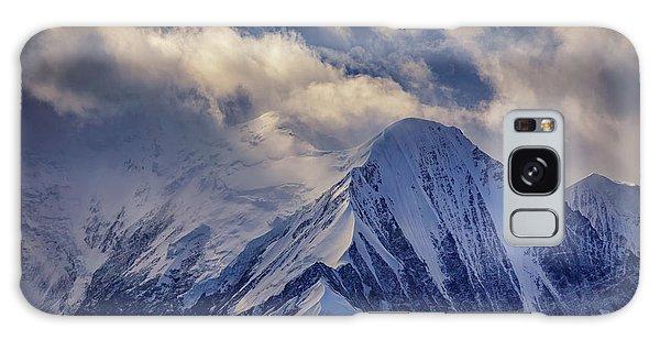 Denali Galaxy Case - A Peak In The Clouds by Rick Berk