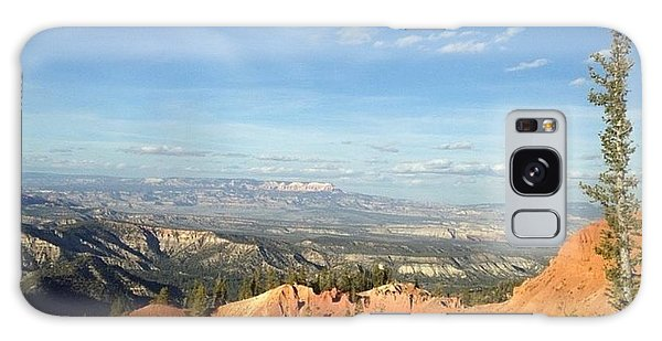 A Perfect Spot At Bryce Canyon Galaxy Case