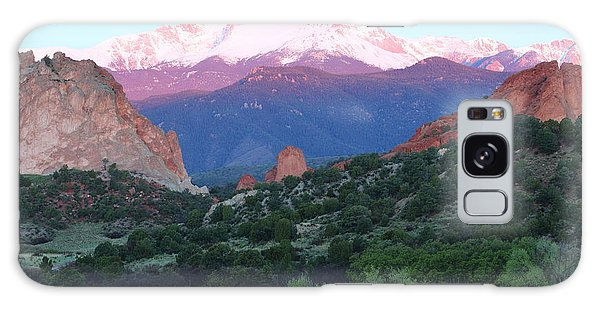 A Pikes Peak Sunrise Galaxy Case