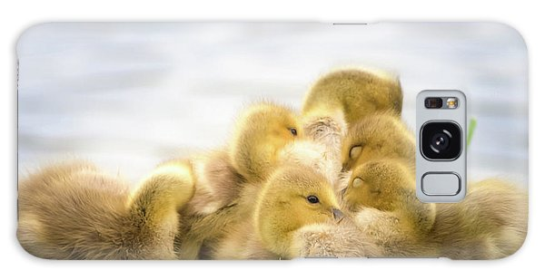 A Pile Of Goslings Galaxy Case