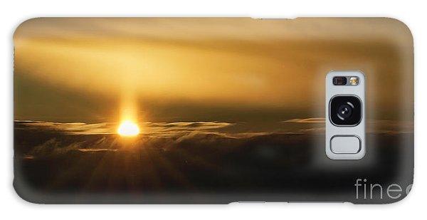 A Pillar Of Golden Light Galaxy Case by Brad Allen Fine Art