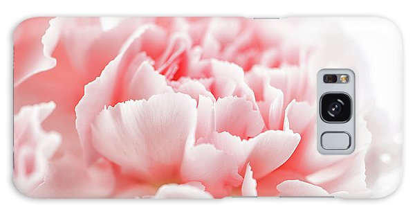 A Pink Carnation Galaxy Case