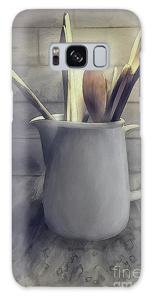 Jug Galaxy Case - A Pitcher Of Spoons by Lois Bryan