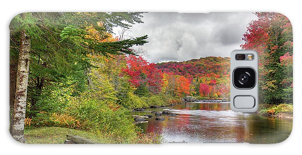 A Place To View Autumn Galaxy Case