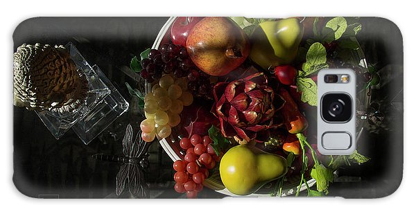 A Plate Of Fruits Galaxy Case