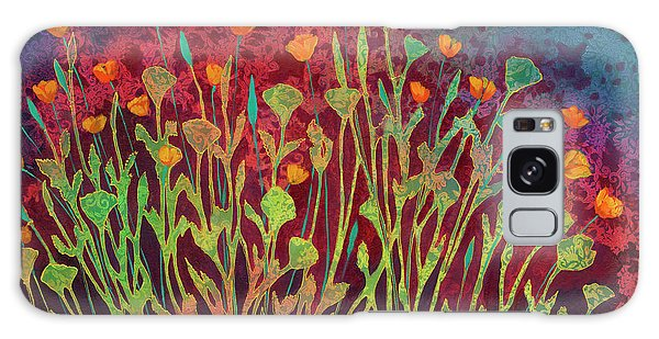 Tapestry Galaxy Case - A Poppy Tapestry by Jennifer Lommers
