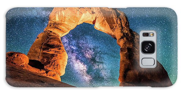 A Portal To The Milky Way At Delicate Arch Galaxy Case