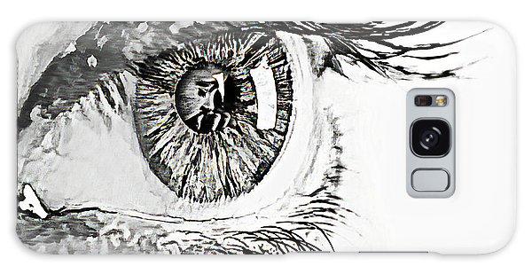 A Prayerful Eye Galaxy Case
