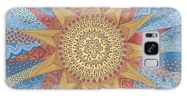 A Quilt Of Sunshine Galaxy Case