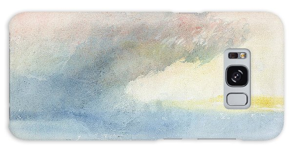 Ominous Galaxy Case - A Rainstorm At Sea by Joseph Mallord William Turner