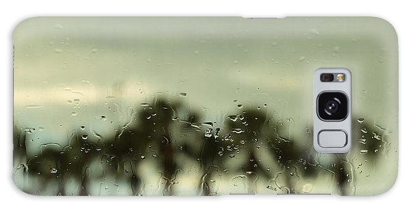 A Rainy Day Galaxy Case by Christopher L Thomley