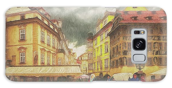 A Rainy Day In Prague Galaxy Case