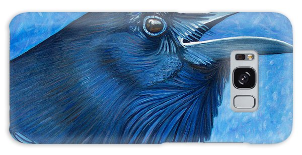 A Raven's Prayer Galaxy Case