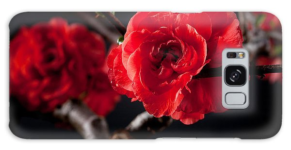 A Red Flower Galaxy Case
