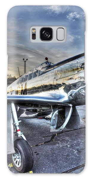 A Reflective Mustang Galaxy Case by David Collins