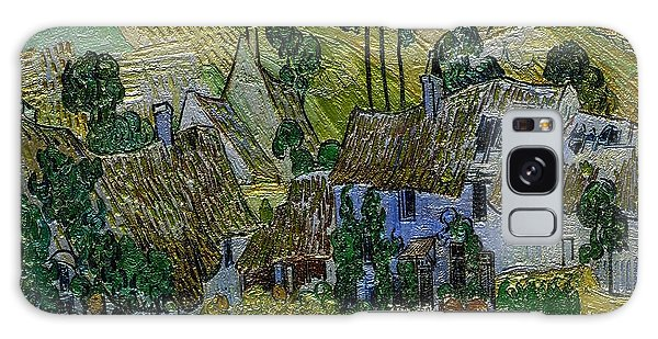A Replica Of A Painting  Of Van Gogh Galaxy Case by Pemaro