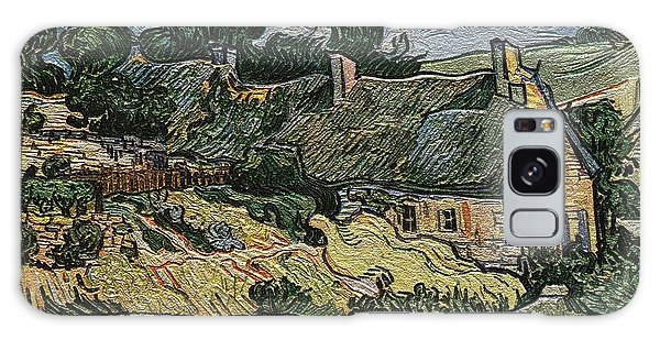 a replica of the landscape of Van Gogh Galaxy Case by Pemaro