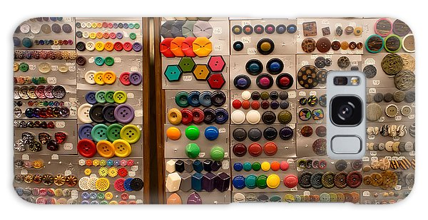 A Riot Of Buttons Galaxy Case