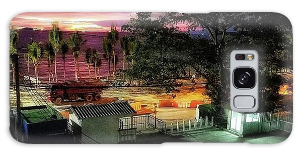 Galaxy Case featuring the photograph A Room With A View. This Was A Few by Mr Photojimsf