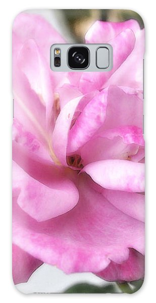 Galaxy Case featuring the photograph A Rose For Cyndee by Kate Word