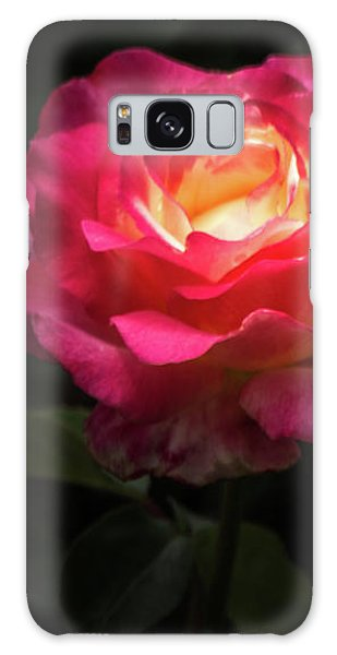 A Rose For Love Galaxy Case