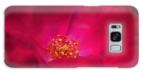 A Rose For My Love Galaxy Case