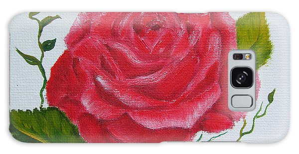 A Rose For You Galaxy Case