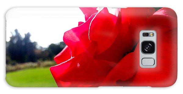 A Rose In The Sun Galaxy Case