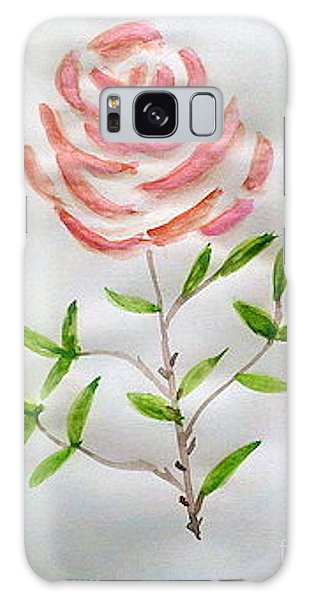 A Rose Is A Rose Is A Rose Galaxy Case