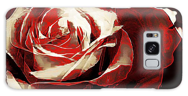 A Rose Of Love Galaxy Case