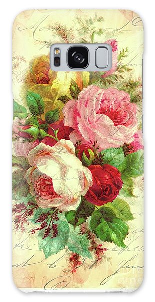 A Rose Speaks Of Love Galaxy Case by Tina LeCour